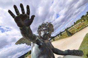 Ange aux château de Versailles