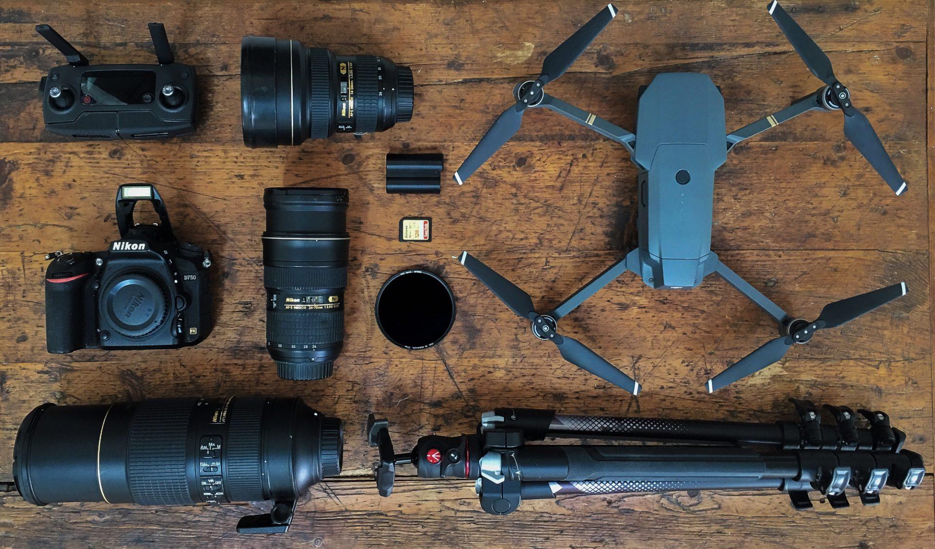 Equipement de drone de Marc Mondange
