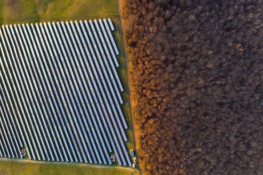 Vue de drone par Marc Mondange